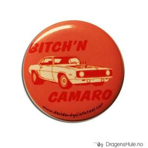 Bilde av Button 37mm: Bitch´n Camaro