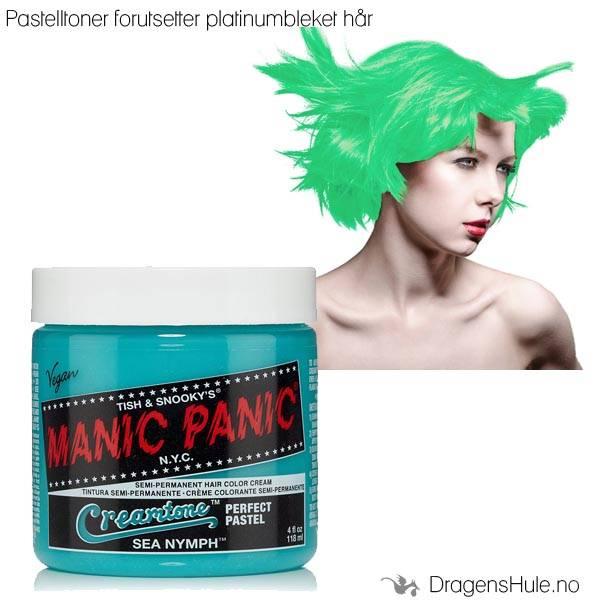 Hårtoner: Sea Nymph Creamtone -Manic Panic