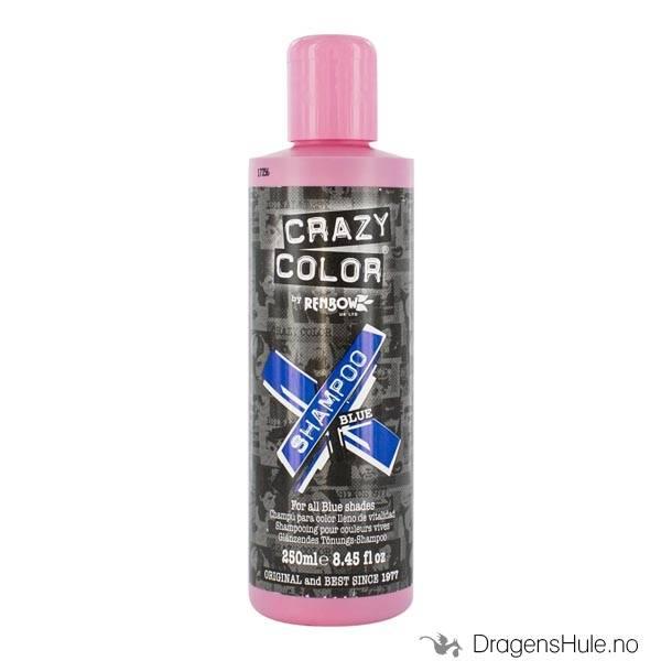 Hårpleie: Shampoo BLUE 250ml -Crazy Color